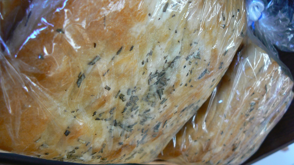 Wheatberry Bake Shop Rosemary Focaccia