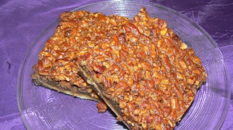 Pecan Whiskey Bars