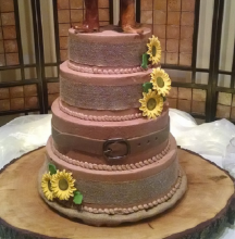 Country Themed Cake